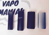 Vaporizery ultra-portable (od lewej): PAX 3, X-MAX Starry V2, XVape Fog, DaVinci IQ.